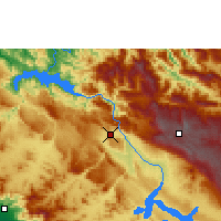 Nearby Forecast Locations - Tuxtla Gutiérrez - Map