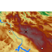 Nearby Forecast Locations - San Cristóbal de las Casas - Map