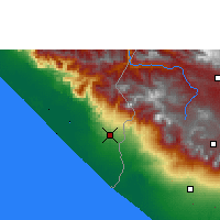 Nearby Forecast Locations - Tapachula - Map