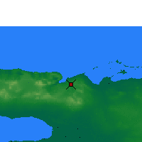 Nearby Forecast Locations - Varadero - Map