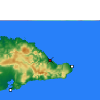 Nearby Forecast Locations - Baracoa - Map
