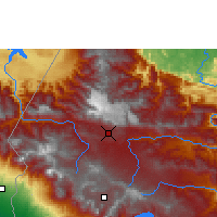 Nearby Forecast Locations - Huehuetenango - Map