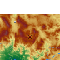 Nearby Forecast Locations - Tegucigalpa - Map