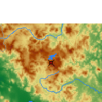 Nearby Forecast Locations - Jinotega - Map