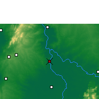Nearby Forecast Locations - Magangué - Map