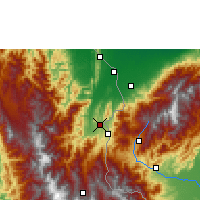 Nearby Forecast Locations - Cúcuta - Map