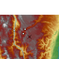 Nearby Forecast Locations - Rionegro - Map