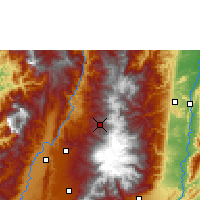Nearby Forecast Locations - Manizales - Map