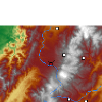 Nearby Forecast Locations - Popayán - Map