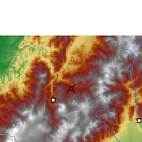 Nearby Forecast Locations - Pasto - Map
