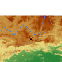 Nearby Forecast Locations - Santa Elena de Uairén - Map