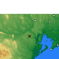 Nearby Forecast Locations - Cruz das Almas - Map