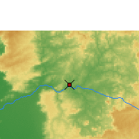 Nearby Forecast Locations - Rondonópolis - Map