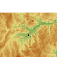Nearby Forecast Locations - Araçuaí - Map