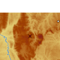 Nearby Forecast Locations - Diamantina - Map