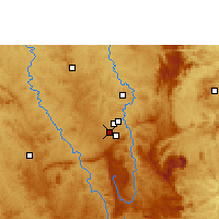 Nearby Forecast Locations - Carlos Prates Airport - Map
