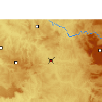 Nearby Forecast Locations - Pirassununga - Map