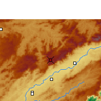 Nearby Forecast Locations - Campos do Jordão - Map