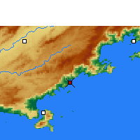 Nearby Forecast Locations - Ubatuba - Map