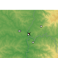 Nearby Forecast Locations - Foz do Iguaçu - Map