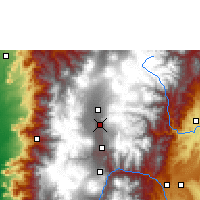 Nearby Forecast Locations - Rumipamba - Map
