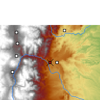 Nearby Forecast Locations - Pastaza/rio Amaz - Map