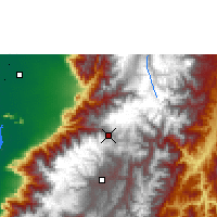 Nearby Forecast Locations - Cañar - Map