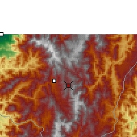 Nearby Forecast Locations - Loja La Argelia - Map