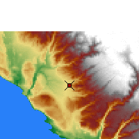 Nearby Forecast Locations - Nazca - Map