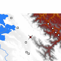 Nearby Forecast Locations - La Paz - Map