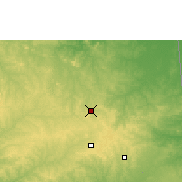 Nearby Forecast Locations - San Ignacio de Velasco - Map
