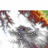 Nearby Forecast Locations - Cochabamba - Map