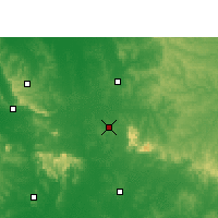 Nearby Forecast Locations - Villarrica - Map