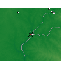 Nearby Forecast Locations - Monte Caseros - Map