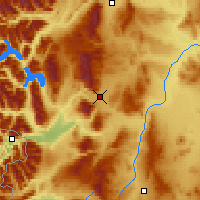 Nearby Forecast Locations - Esquel - Map