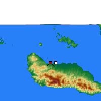 Nearby Forecast Locations - Honiara - Map