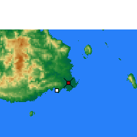 Nearby Forecast Locations - Nausori - Map