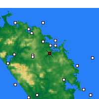 Nearby Forecast Locations - Kawakawa - Map