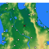 Nearby Forecast Locations - Morrinsville - Map