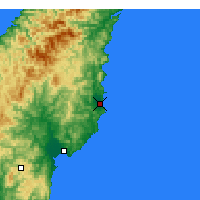 Nearby Forecast Locations - Tolaga Bay - Map