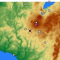 Nearby Forecast Locations - Ohakune - Map