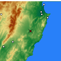 Nearby Forecast Locations - Waipukurau - Map