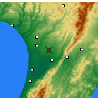 Nearby Forecast Locations - Feilding - Map