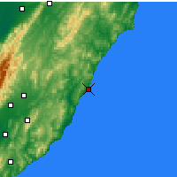 Nearby Forecast Locations - Castlepoint - Map