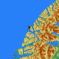 Nearby Forecast Locations - Secretary Island - Map