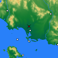 Nearby Forecast Locations - Winton - Map
