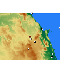 Nearby Forecast Locations - Mareeba - Map