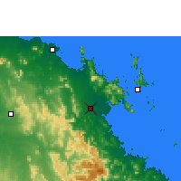 Nearby Forecast Locations - Proserpine - Map