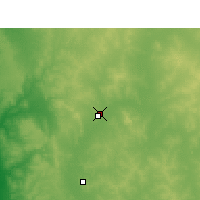 Nearby Forecast Locations - Morawa Airport - Map