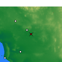 Nearby Forecast Locations - Kyancutta - Map